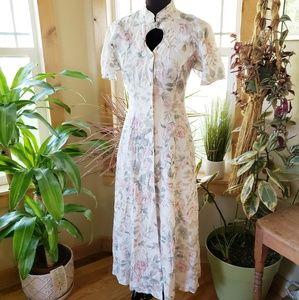 Vintage 40s Keyhole Dress